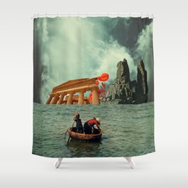 We Are All Fishermen Shower Curtain