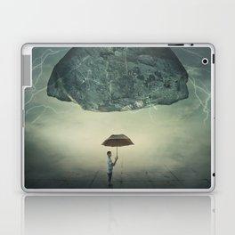 mystic umbrella protection Laptop & iPad Skin