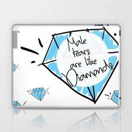 Male Tears are Like Diamonds Laptop & iPad Skin
