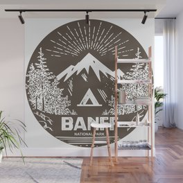 Banff National Park Wall Mural
