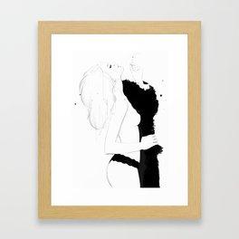 1231 Framed Art Print