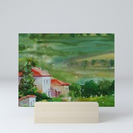 Tuscan Landscape Mini Art Print