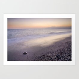"""Amoladeras beach"" Art Print"