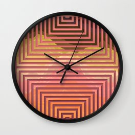 TOPOGRAPHY 2017-015 Wall Clock
