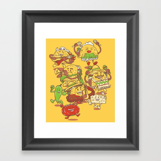 Let there be TACOS Framed Art Print