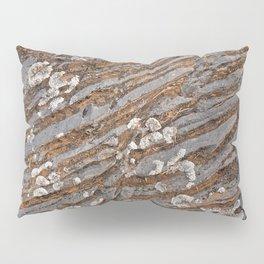 Cracked Stone Striations Pillow Sham