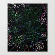 Neon Colours Canvas Print