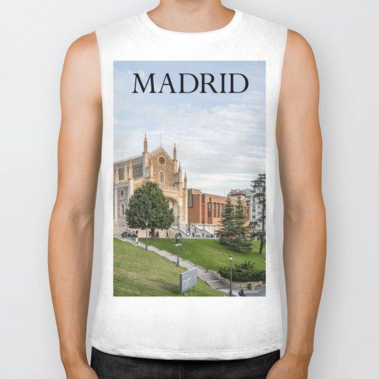 El Prado Museum. Madrid Biker Tank