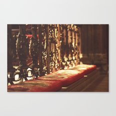 Manchester cathedral I Canvas Print