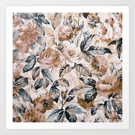 ROSE GARDEN - 7218/2 Art Print
