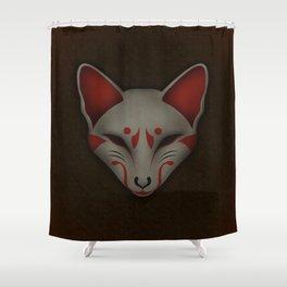 Kitsune Kabuki Shower Curtain