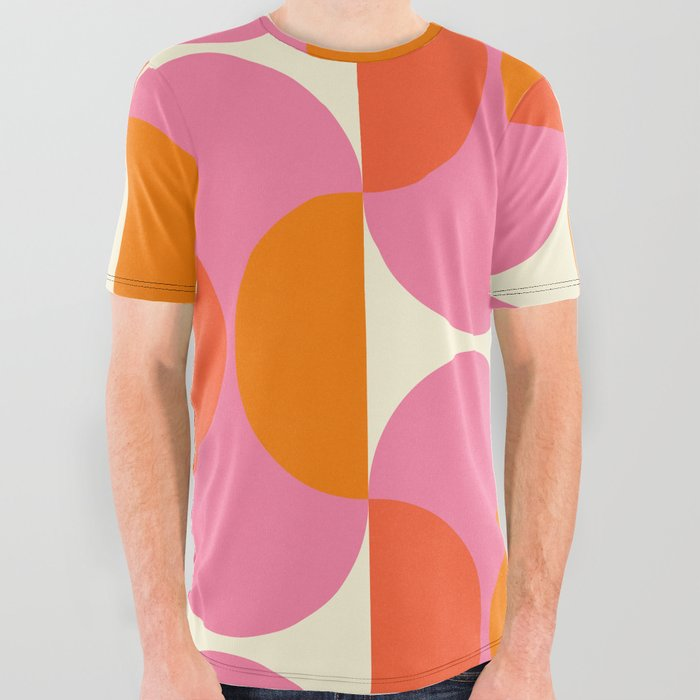 Capsule Sixties All Over Graphic Tee