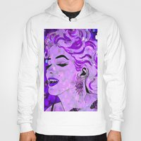 marilyn Hoodies featuring Marilyn by Saundra Myles