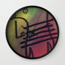 ranbow Man Wall Clock