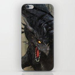 Black Dragon iPhone Skin