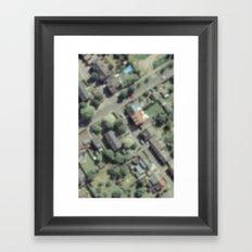Pooltime Framed Art Print