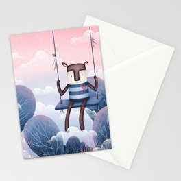 Magic Forest Friends - Fog of Time Stationery Cards