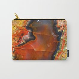 Red Vibes Carry-All Pouch