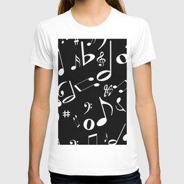 Music in the Air Black T-shirt