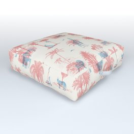 Where they Belong - Pastel Colors Outdoor Floor Cushion