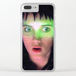 Lydia Deetz Clear iPhone Case