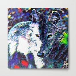 Animal ArtStudio 319 Wolf Metal Print