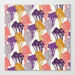 Arboreal Silhouettes Canvas Print