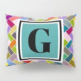G Monogram Pillow Sham
