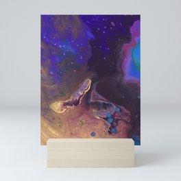 Purple Nebula  Mini Art Print