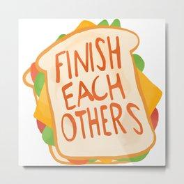 ...Sandwiches! - Anna (Ralph Breaks the Internet) Metal Print