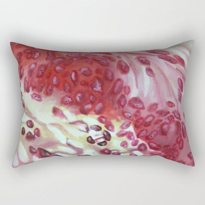 Blood Work Rectangular Pillow