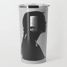 A new door Travel Mug