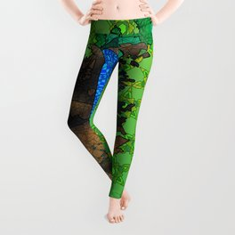 Munising Falls Leggings
