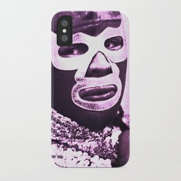 wrestling fighter iPhone Case