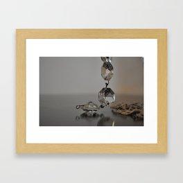 CLARITY IS KEY Framed Art Print