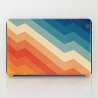 stripe iPad Cases featuring Barricade by Tracie Andrews