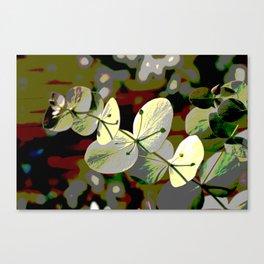 Bright Leaf Canvas Print