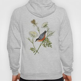 Nuthatch and Carrot Hoody