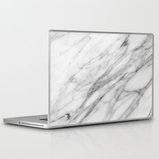 Carrara Marble Laptop & iPad Skin