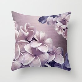 Imperfect Plumeria Throw Pillow