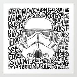 Look sir... Art Print
