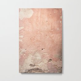 Pink art, old wall, backdrop pink, background pink, travel photography, old wall Metal Print