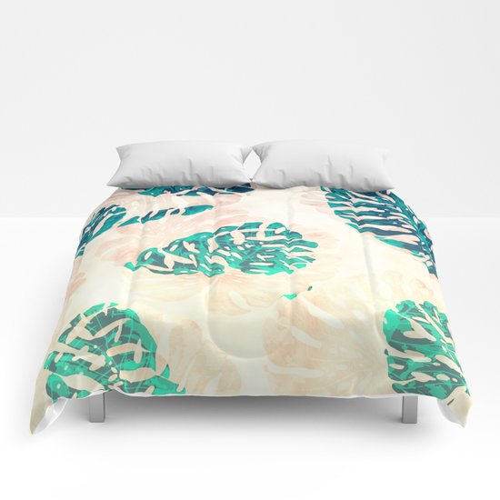 CALI TROPICAL LEAVES Comforters