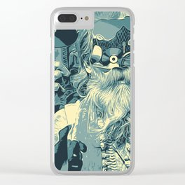 Culture Baba Clear iPhone Case