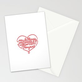 Razorblade Stationery Cards