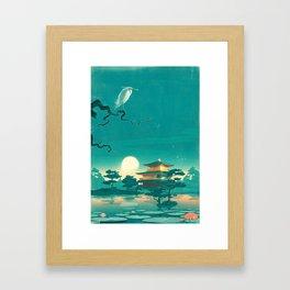 SlumberBean Temple Framed Art Print