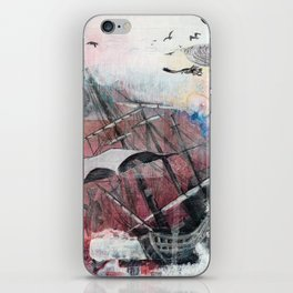 Graceful Attempt iPhone Skin