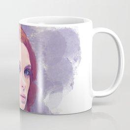 Purple Portrait Dream Coffee Mug