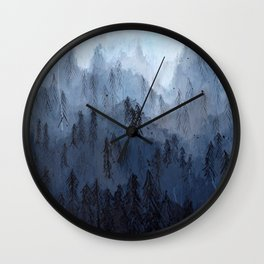 Mists No. 3 Wall Clock