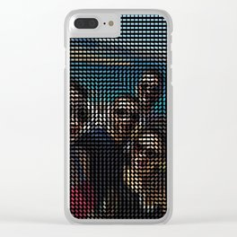 Social Surface - Friends on the beach Clear iPhone Case